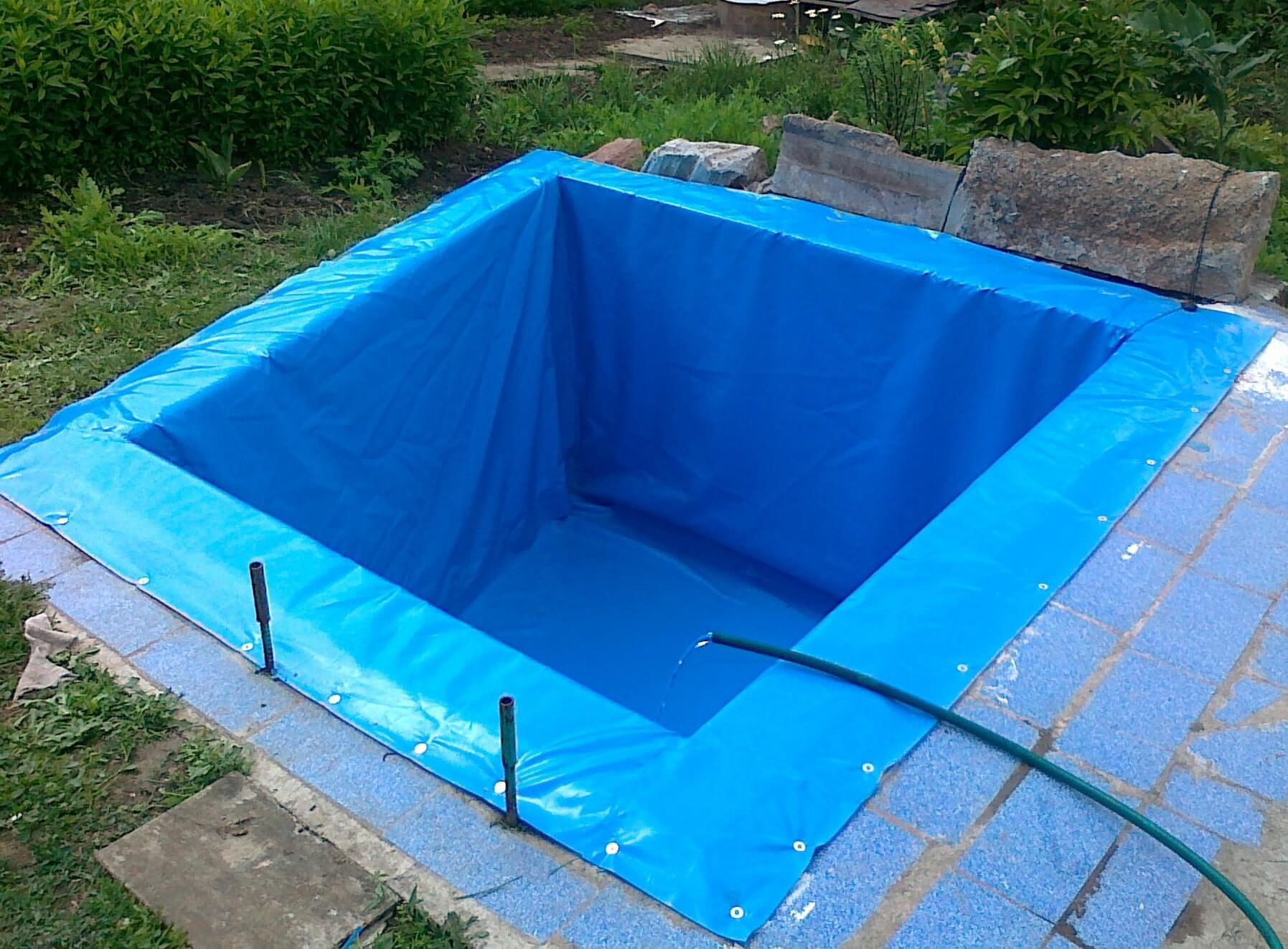 Как сделать бассейн своими руками с пленкой